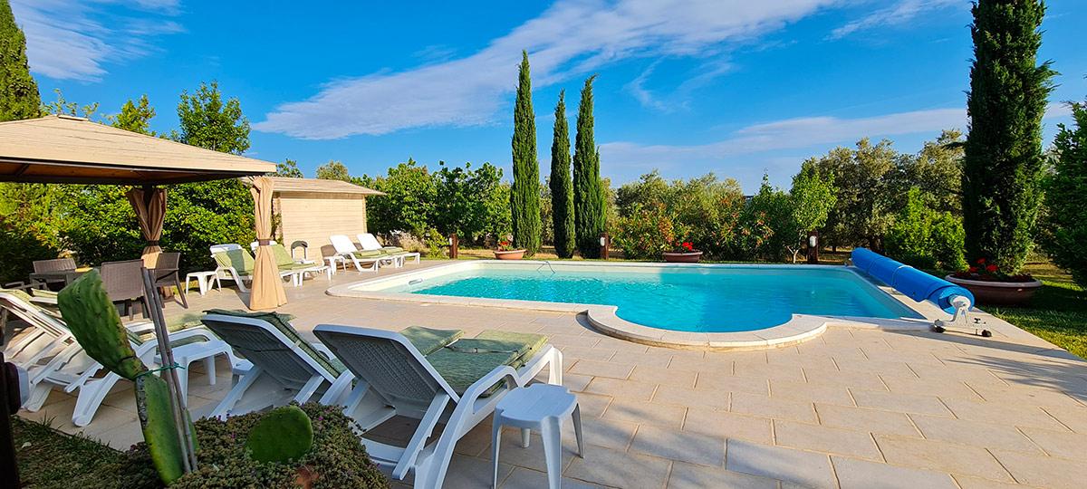 Foto La piscina